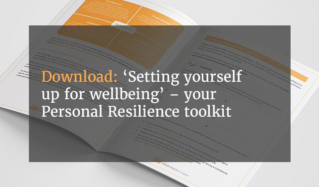 Robertson Cooper Personal Resilience
