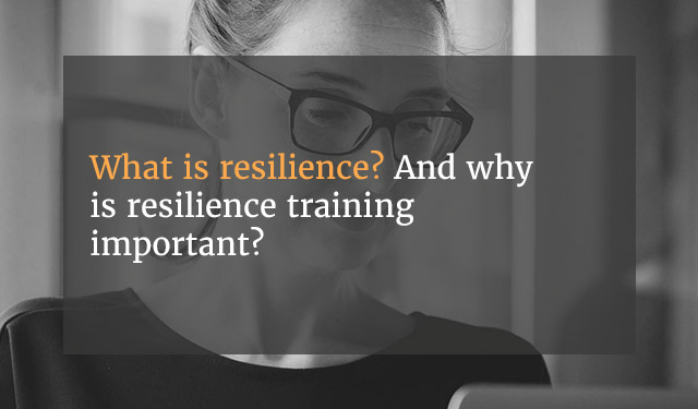 Robertson Cooper Wellbeing and Resilience Training